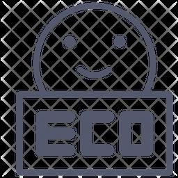 Eco Line Icon