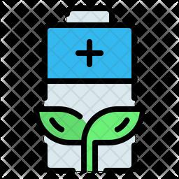 Eco Battery Icon