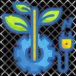 Eco Energy Innovation Icon
