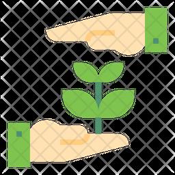 Eco Friendly Flat Icon
