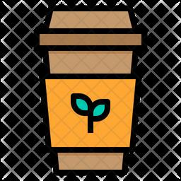 Eco Friendly Cup Icon