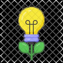 Eco Idea Flat Icon