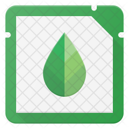 Eco Microchip Icon