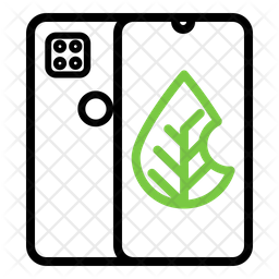 Eco Mobile Icon