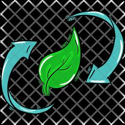 Eco Recycling Icon