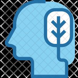 Eco thinking Icon