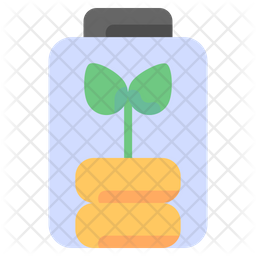 Ecological battery Icon