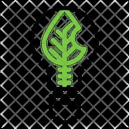 Ecological Bulb Icon