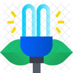 Ecological Lamp Icon