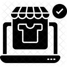 Ecommerce Glyph Icon