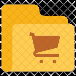 Ecommerce folder Icon