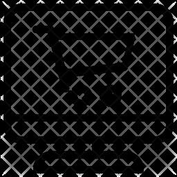 Ecommerce site Line Icon