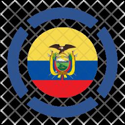 Ecuador Flag Icon