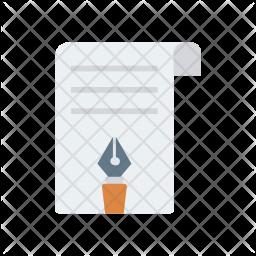 Edit document Flat Icon