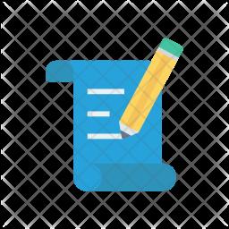 Edit flyer Icon