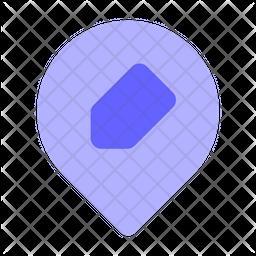 Edit-location Icon