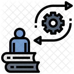 Education Management Colored Outline Icon