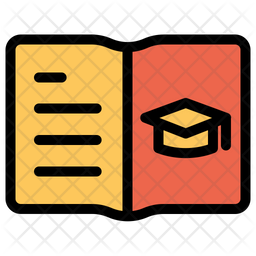 Education Notebook Icon Of Colored Outline Style Available In Svg Png Eps Ai Icon Fonts