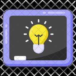 Educational Idea Flat Icon