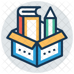 Educational material box Icon