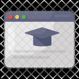 Educational Website Icon