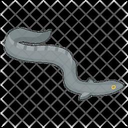 Eel Fish Icon