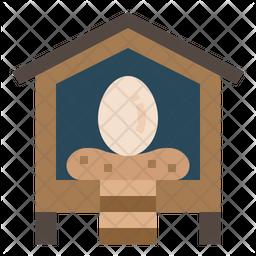 Egg Flat Icon
