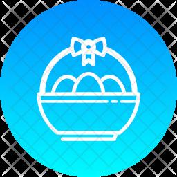Egg basket Icon