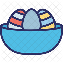 Egg bucket,egg bowl Icon