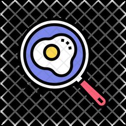 Egg Fried Icon