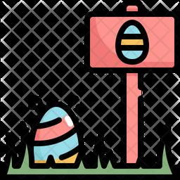 Egg-hunt Icon