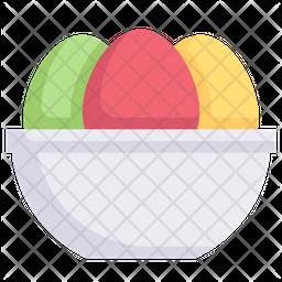 Egg In Bowl Icon