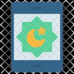 Eid Mubarak Flat Icon