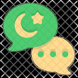 Eid Mubarak Chat Icon