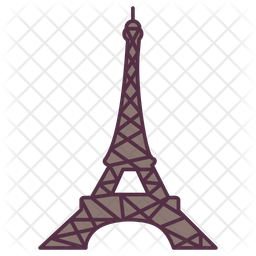 Eiffel Tower Icon Of Colored Outline Style Available In Svg Png Eps Ai Icon Fonts
