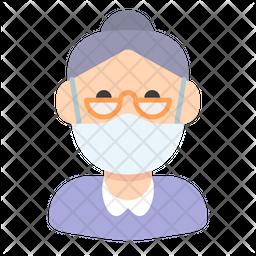 Elder Woman Icon