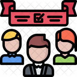 Election banner Icon