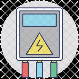 Electric Control Box Icon