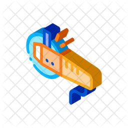 Electric Cutter Icon