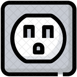 Electric Socket Icon