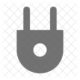 Electrical Glyph Icon