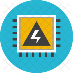 Electrical chip Icon