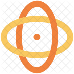 Electron Colored Outline Icon