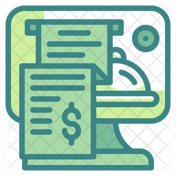 Electronic Bill Icon