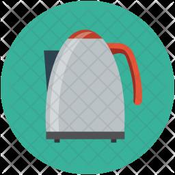 Electronic kettle Icon