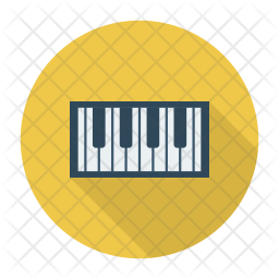 Electronic Keyboard Icon Of Flat Style Available In Svg Png Eps Ai Icon Fonts
