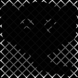 Elephant Glyph Icon