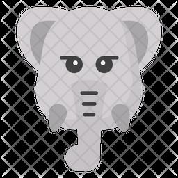 Elephant Emoji Icon