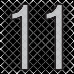 Eleven Icon