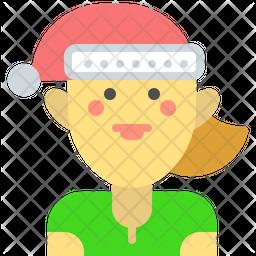 Elf girl Icon